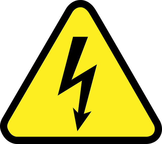 Electricity Sign used in Industrial Safety